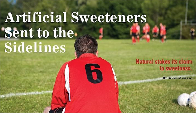 Artificial Sweeteners Sent to the Sidelines
