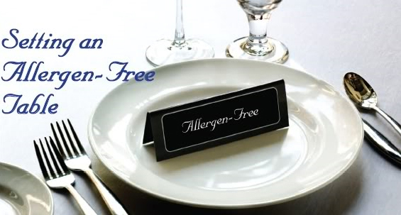 Setting an Allergen-Free Table
