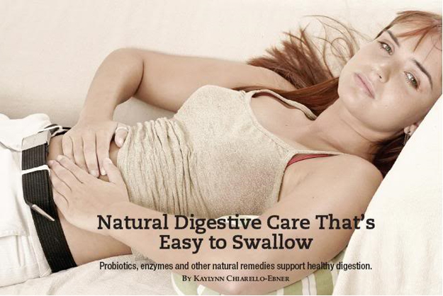 Natural Digestive Care That's Easy to Swallow