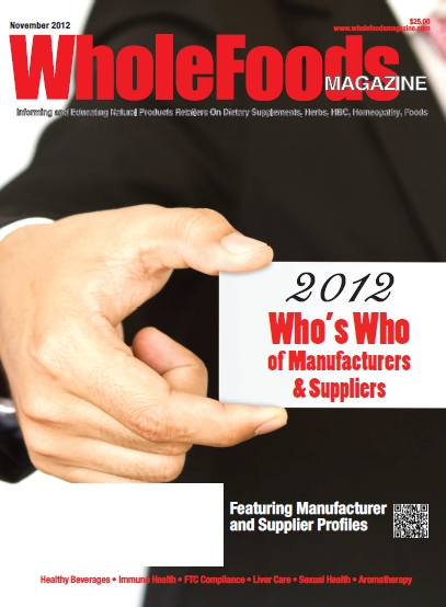 November 2012 Who's Who Issue -