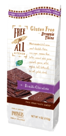 Gluten-Free Brownie Thins | WholeFoods Magazine