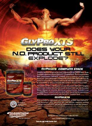 Champion Nutrition GlyProXTS