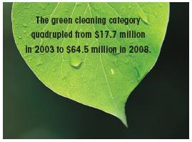 Cleaning Green and Greening Clean
