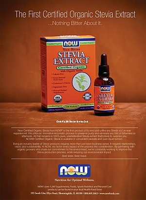 Now: Stevia Extract