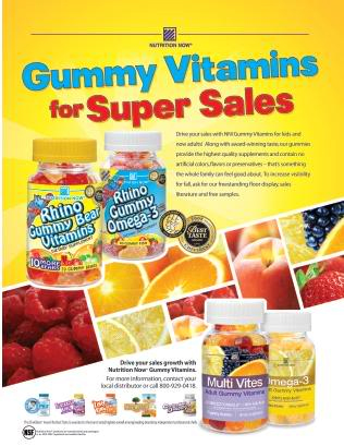 Gummy Vitamins for Super Sales