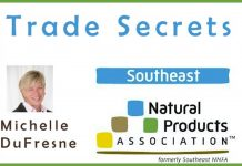 SENPA, Natural Products Association, Southeast Natural Products Association, Michelle DuFresne