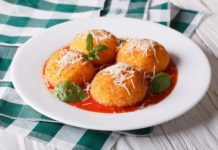 Baked Arancini Appetizers, Lundberg Family Farms